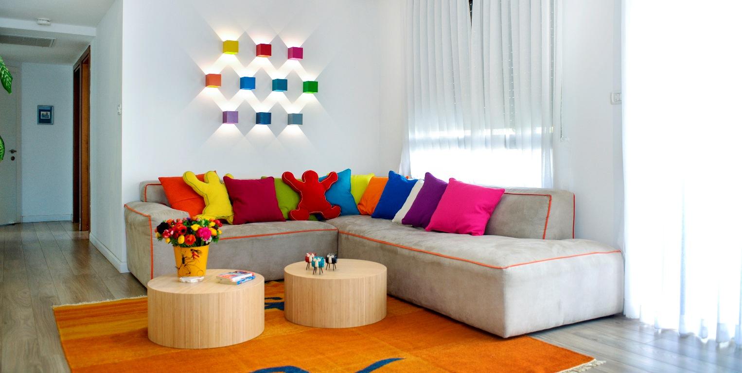 עיצוב הבית בצבע
