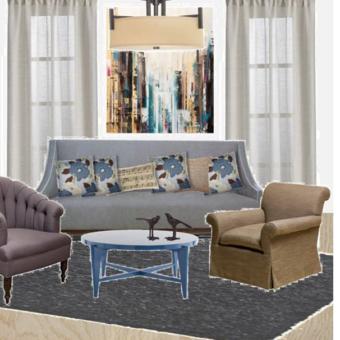 הום סטיילינג | חדרים בצבע סגול | עיצוב הבית בצבע