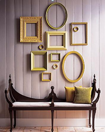 עיצוב קירות הסלון | הום סטיילינג