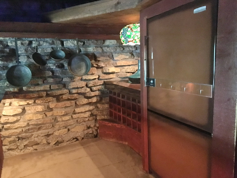המטבח בבית על הסלע