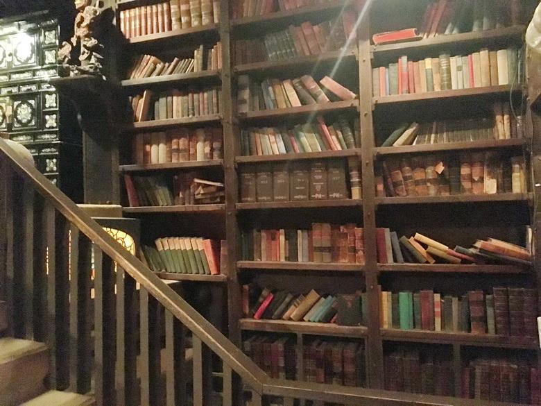 הספרייה בבית על הסלע