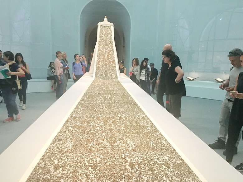 """""""Wedding ensemble"""" (2014-15), by Karl Lagerfeld for House of Chanel"""""""