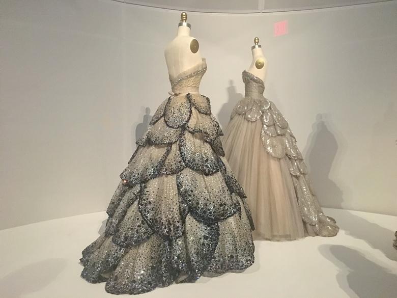 """Venus Dress"""", House of Dior, 1949-50"""""""
