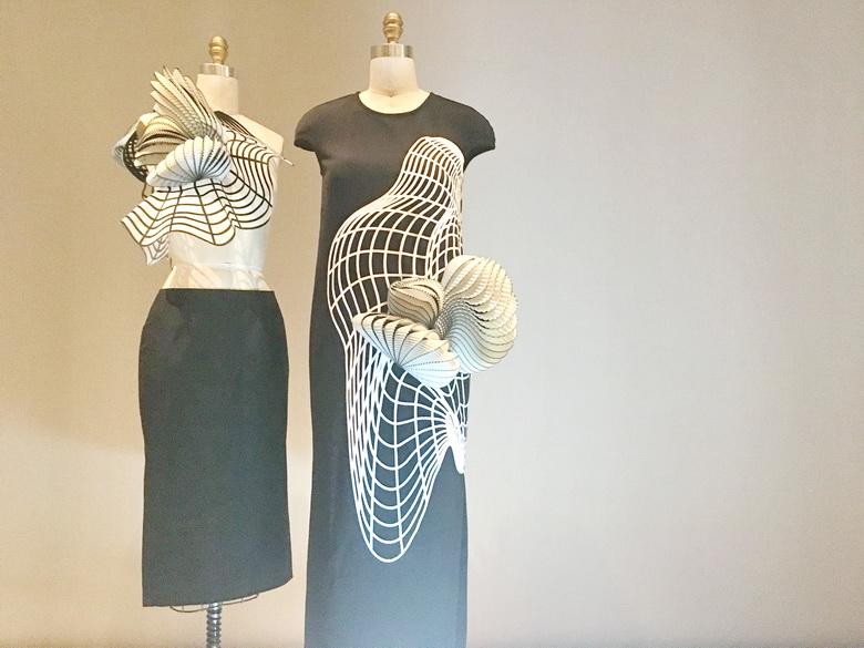 נועה רביב, שמלות תלת-מימד