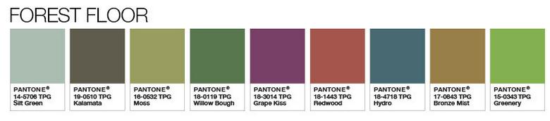 צבעי 2017 - ההשראה לשילוב של חברת Pantone