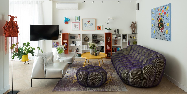 עיצוב בית צבעוני