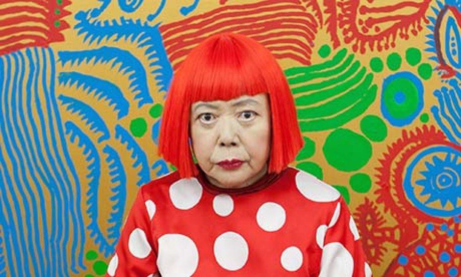 ההשראה הצבעונית של Yayoi Kusama