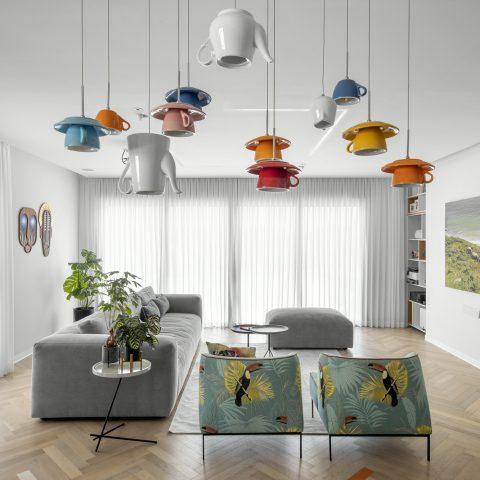עיצוב דירה צבעונית בהרצליה
